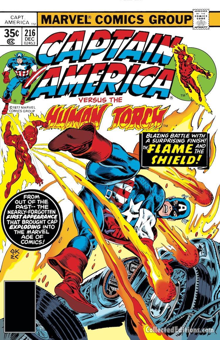 Captain America Marvel Masterworks