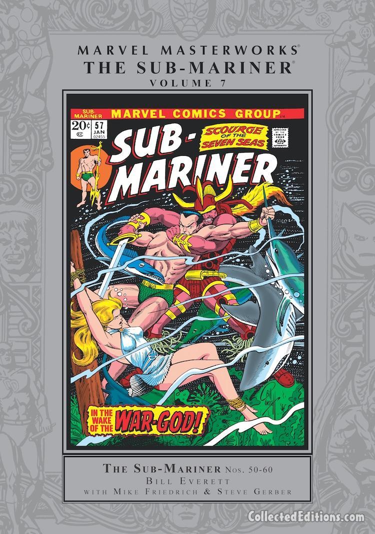 2003- Marvel #6 OOP SEALED NM Marvel Masterworks Sub-Mariner HC